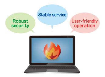 "Click here for an explanation of MagicConnect's strengths, from ""robust security,"" to ""stable service,"" ""user-friendly operation,"" and more."